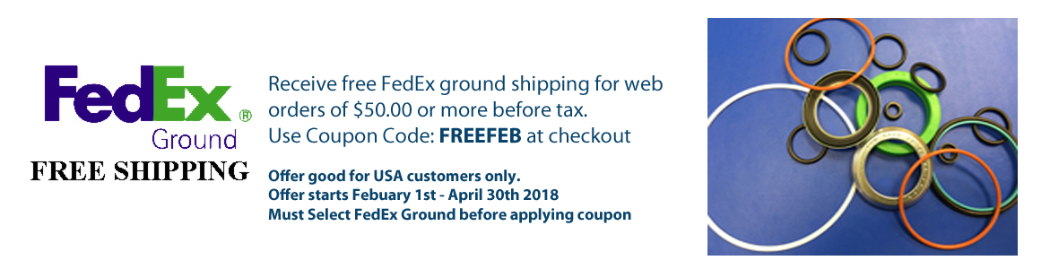 Get free FedEx shipping on orders of $50.00 or more